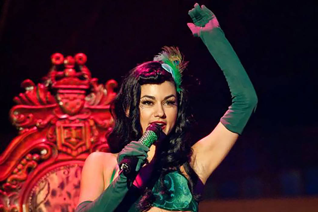 "Melody Sweets in ""Absinthe"" at Caesars Palace. (Absinthe/Facebook)"