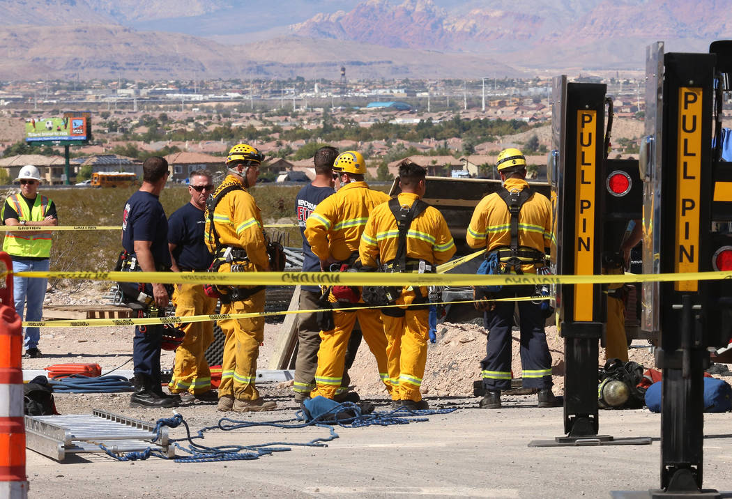 coroner ids construction worker who died monday in las vegas las vegas review journal