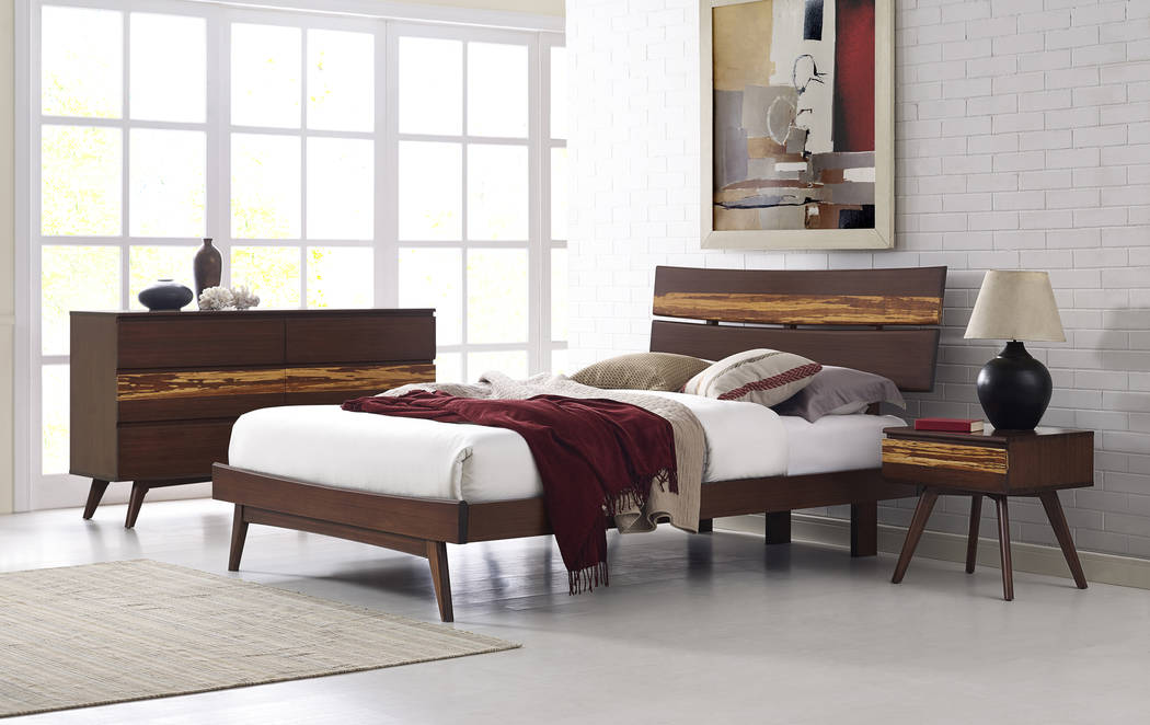 Sustainable Furnishings Council Greenington's Azara bedroom set is made of bamboo and colored in a mechanical, rather than chemical, process. Greenington has a showroom in the World Market Center  ...