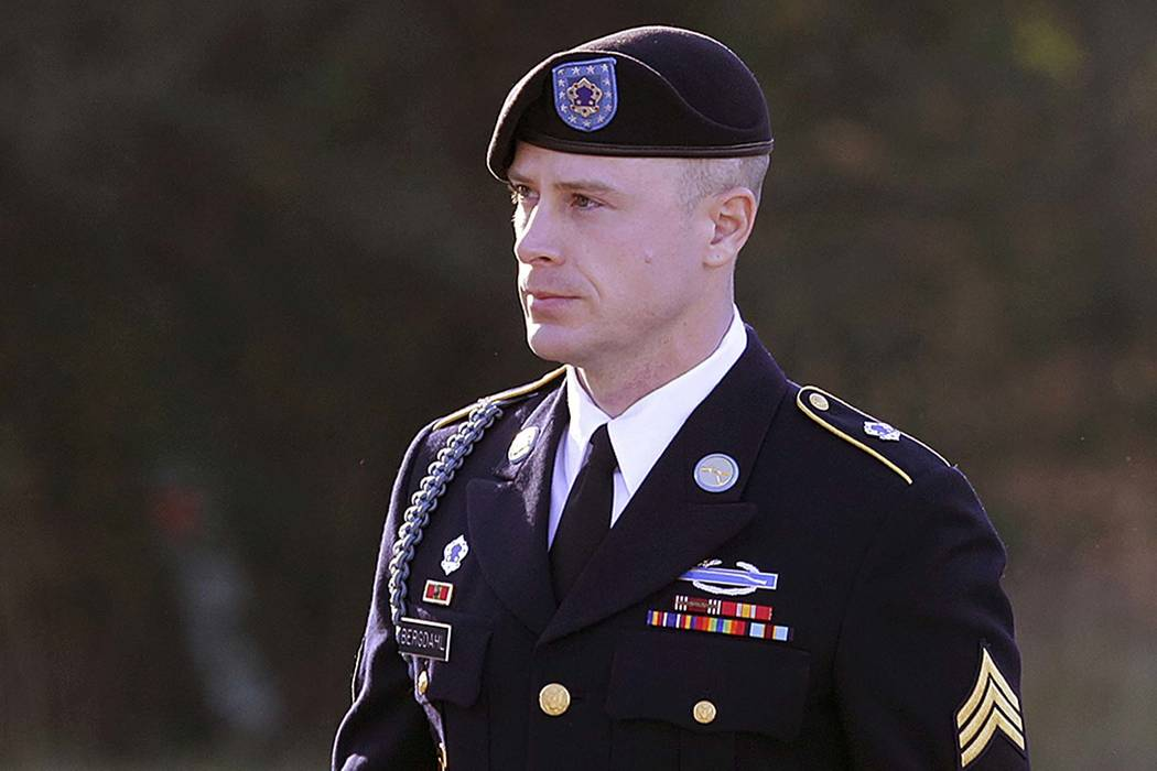 Army Sgt. Bowe Bergdahl arrives for a pretrial hearing at Fort Bragg, N.C., Jan. 12, 2016. (Ted Richardson/AP, File)