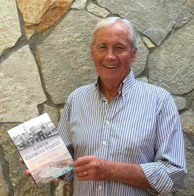 "Longtime Nevada newsman Brendan Riley with first book on Aug 3, 2017 at Lake Tahoe. ""Lower Georgia Street: California's Forgotten Barbary Coast,"" about the seedy side of Riley's hometown, Vallejo, ..."