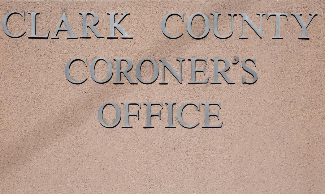 The Clark County Coroner and Medical Examiner office located at 1704 Pinto Lane in Las Vegas on Thursday, Sept. 28, 2017. Bizuayehu Tesfaye Las Vegas Review-Journal @bizutesfaye