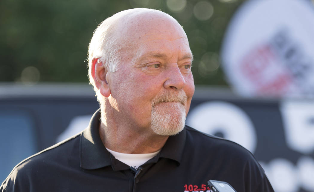 Floyd Reese, the former general manager of the Tennessee Titans, discusses the team's move in Nashville, Tenn., Friday, Sept. 8, 2017. Heidi Fang Las Vegas Review-Journal @HeidiFang