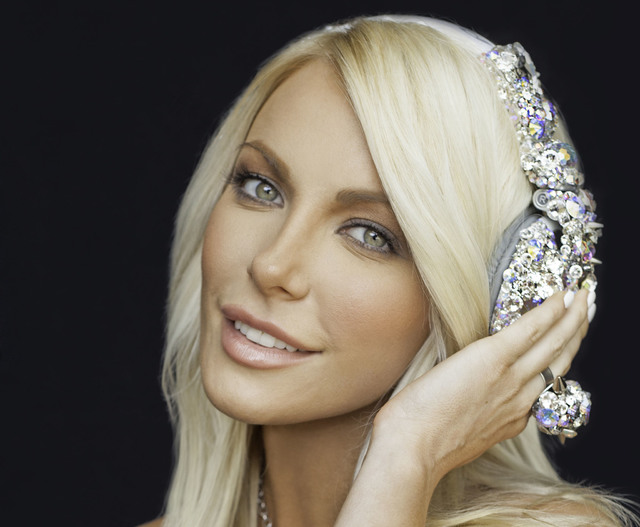 Crystal Harris Hefner, the wife of Playboy's Hugh Hefner, is scheduled to DJ on Saturday at Rehab dayclub. (Courtesy)