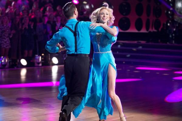 "Pop singer and Vegas resident Debbie Gibson was eliminated with her ""Dancing with the Stars"" first-time professional partner Alan Bersten on Sept. 26th special show."