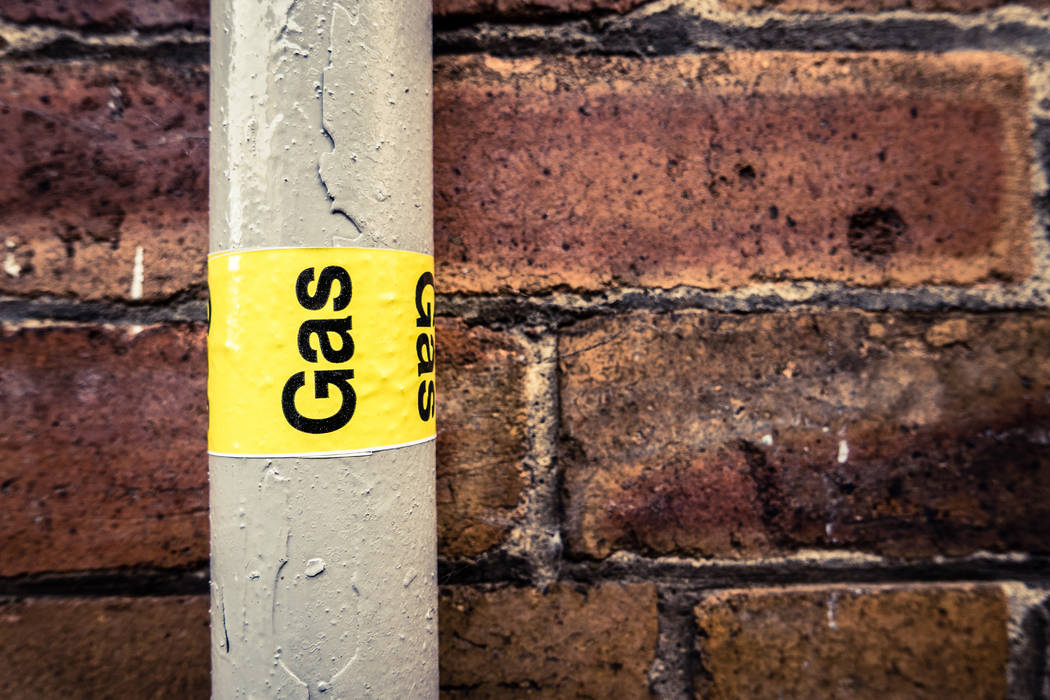 A residential gas pipe (Thinkstock)