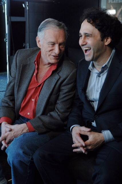 "Hugh Hefner and George Maloof, shown in April 2006 at Hefner's 80th birthday party at the Palms, were friends and business partners at the hotel from 2006-2012. Maloof says: ""His constant loyalty  ..."