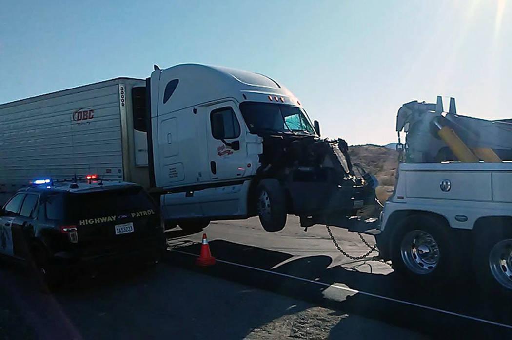 Eight high school students were hurt in a school bus crash near Needles, California, early Thursday. (ZachNews)