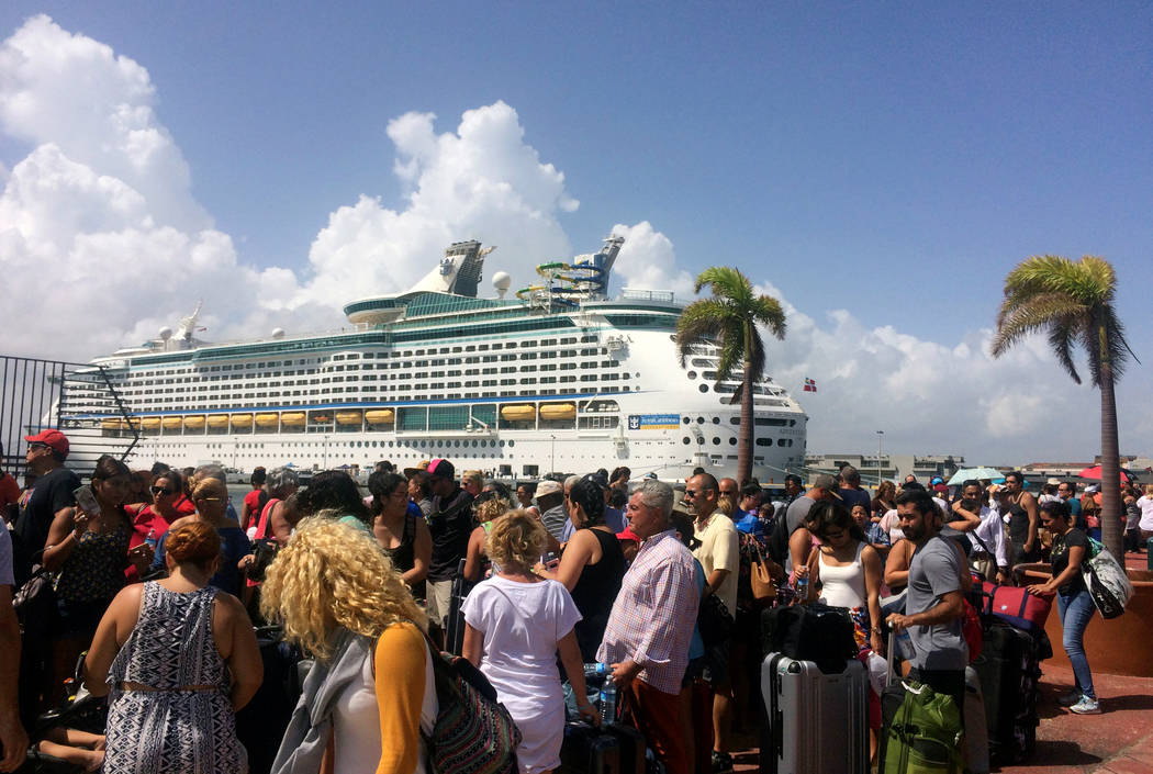 Evacuees leave Puerto Rico by cruise ship, some doubting ...