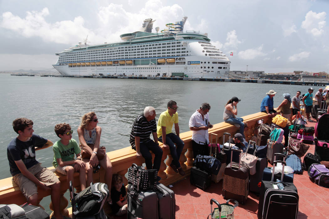 Evacuees Leave Puerto Rico By Cruise Ship Some Doubting