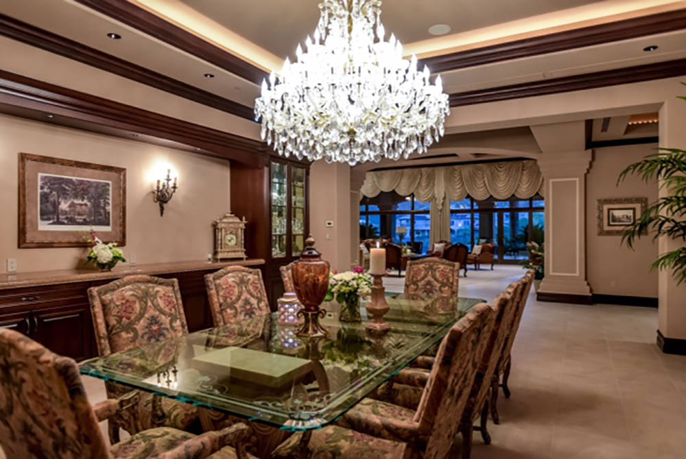 Wardley Real Estate The formal dining room.