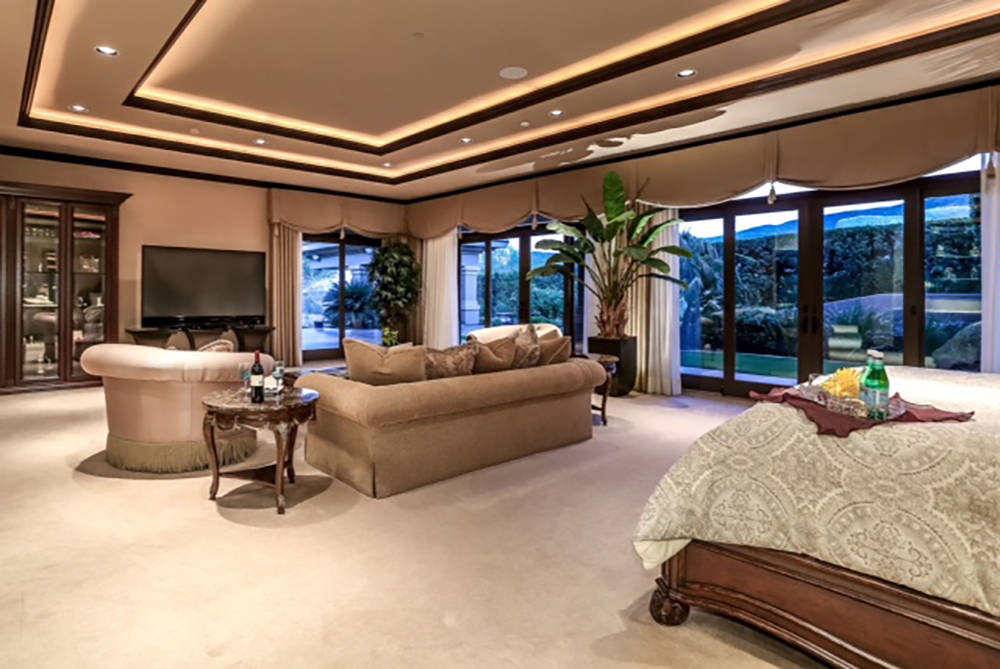 One of two large master suites. (Wardley Real Estate)