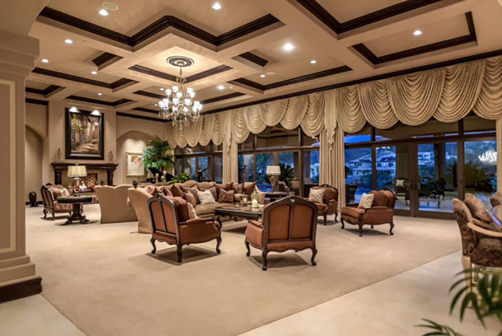 The living room. (Wardley Real Estate)