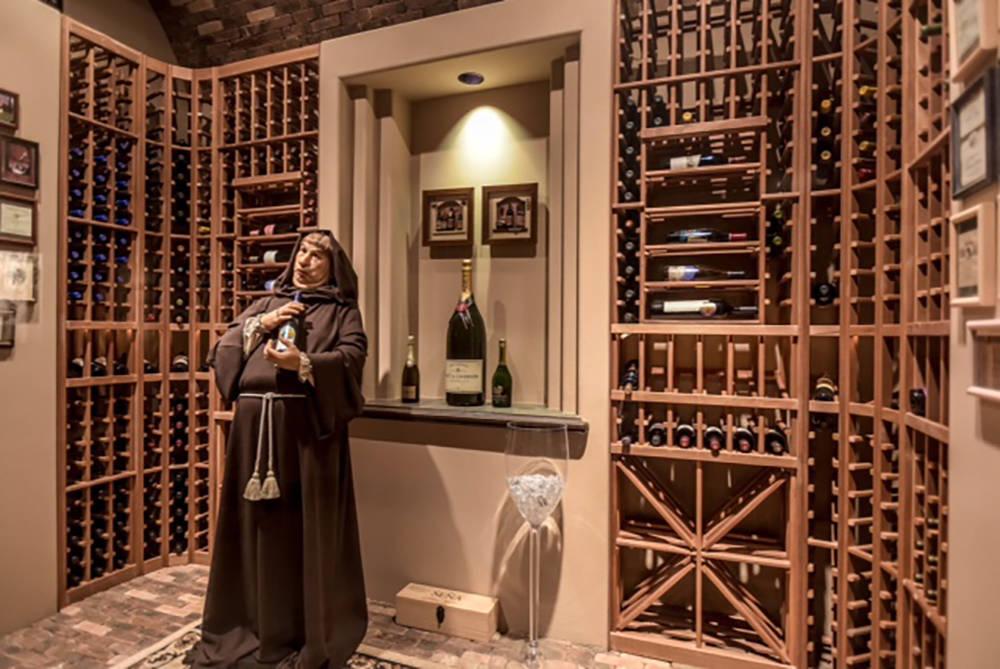 The wine cellar. (Wardley Real Estate)