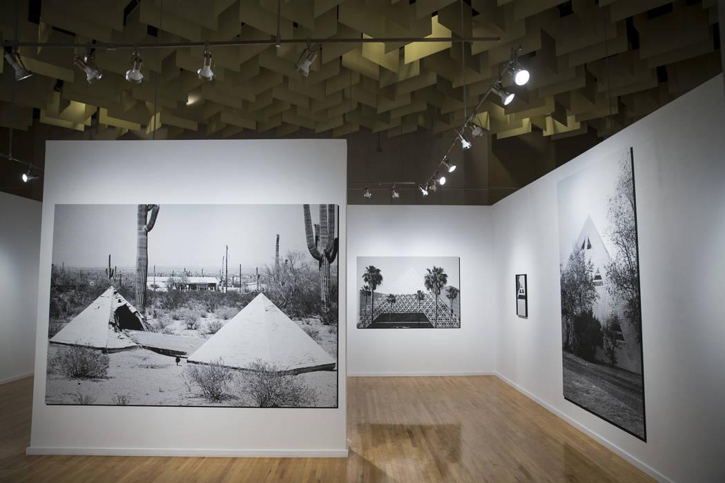 Art by Ian James for the upcoming Preservation exhibition at UNLV's Marjorie Barrick Museum of Art in Las Vegas, Friday, Sept. 29, 2017. Erik Verduzco Las Vegas Review-Journal @Erik_Verduzco