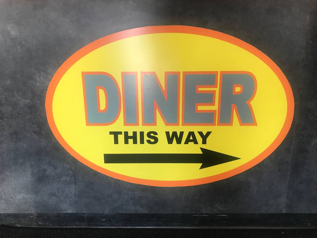 A sign leads to the diner at SNS Barbeque, 1100 E. Colton Ave. (Kailyn Brown/View) @KailynHype