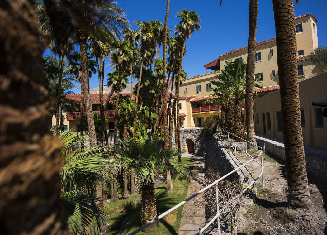 The Inn at Death Valley on Thursday, Sept. 28, 2017. Originally called the Furnace Creek Ranch, the newly renamed resort area at the famed national park is undergoing a multimillion-dollar renovat ...