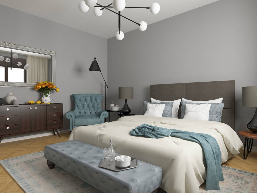 Thinkstock In a recent survey, millennials buyers said gray was their top neutral color in decor, while blue was the No. 1 choice when using a highlight color.