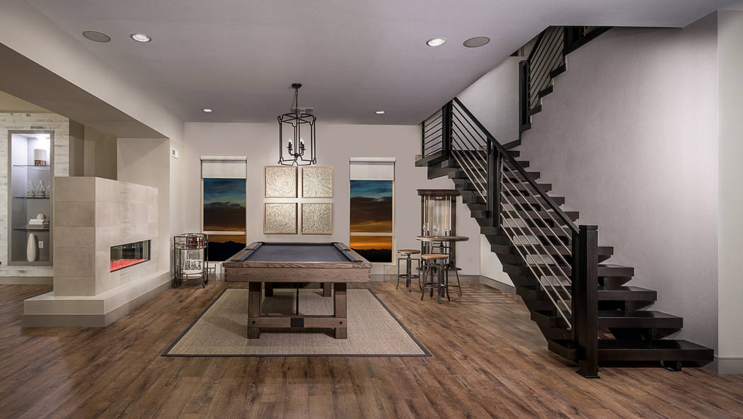 The Sterling model found in Pulte Homes' Reverence community in Summerlin features an open design and flex space. It is among those that homeowners can purchase on contingency through the Nevada ...