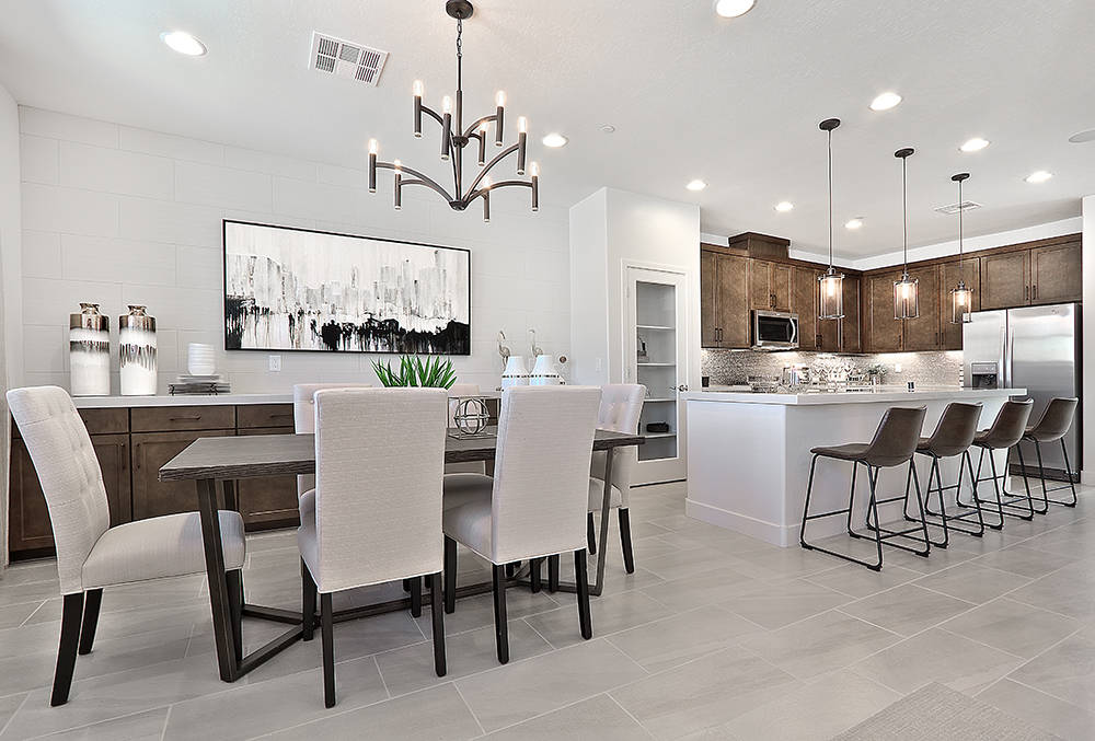 CalAtlantic Homes to hold a grand opening of Santa Rosa town homes in Summerlin on Sept. 30. (CalAtlantic Homes)
