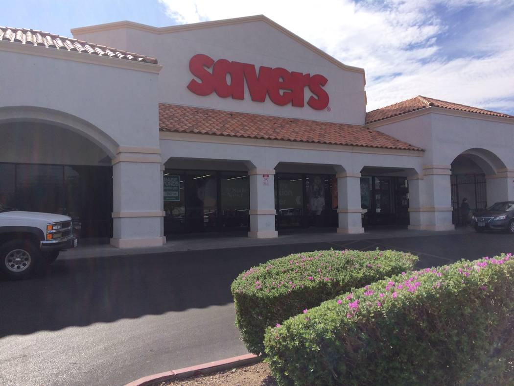 The Savers on Lake Mead Boulevard, seen Sept. 26, 2017,  begins gearing up for Halloween at the end of August. The last two weeks of September see an uptick in efforts. The store hosts a runway fa ...