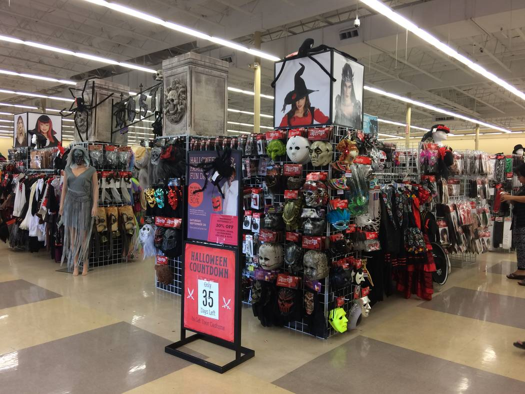 More customers seek Halloween costumes at thrift stores – Las ...