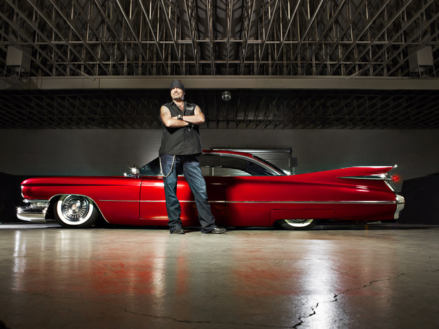 "Danny Koker stars in History's ""Counting Cars."" Smallz & Raskind"