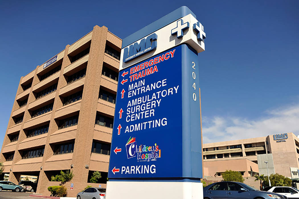University Medical Center in Las Vegas (File)