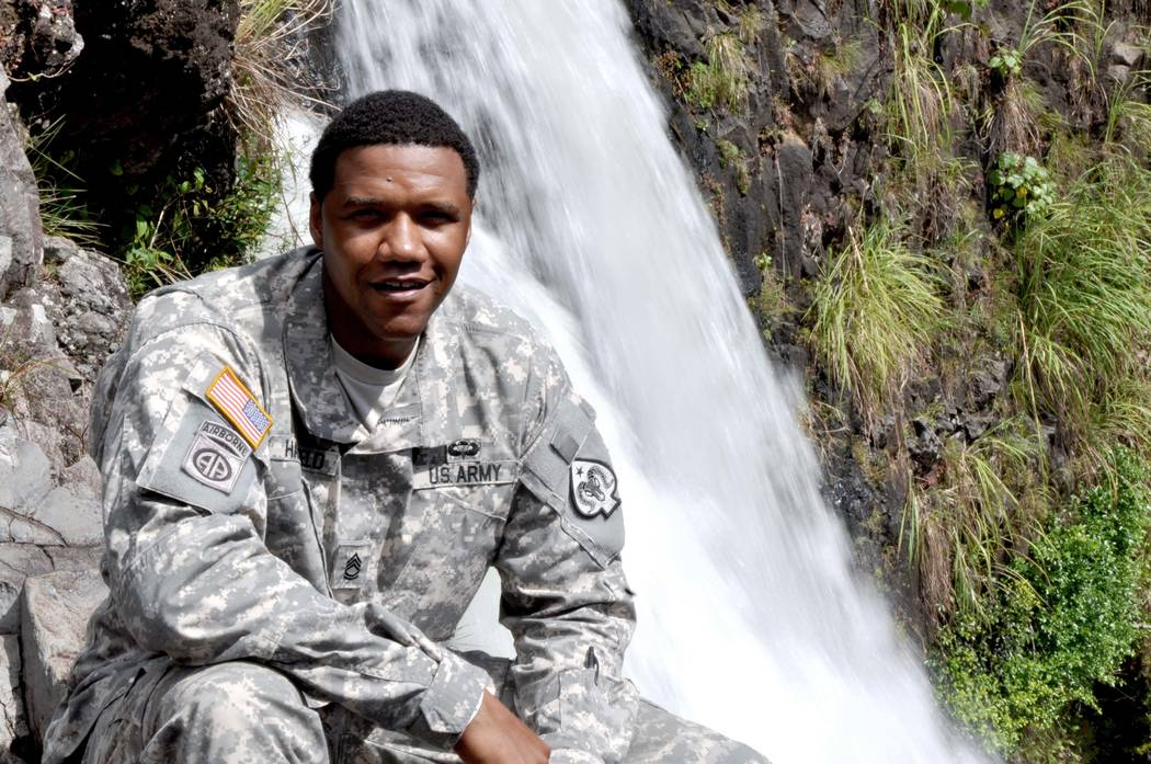 Nevada Army National Guard Sgt. 1st Class Charleston Hartfield was a victim in the shooting in Las Vegas.  (Sgt. Walter Lowell/U.S. Army National Guard/provided via Nevada Army National Guard)