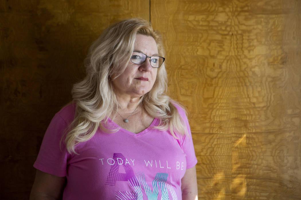 Linda Baresel at her home in Henderson, Friday, Oct. 6, 2017. Bridget Bennett Las Vegas Review-Journal @Bridgetkbennett