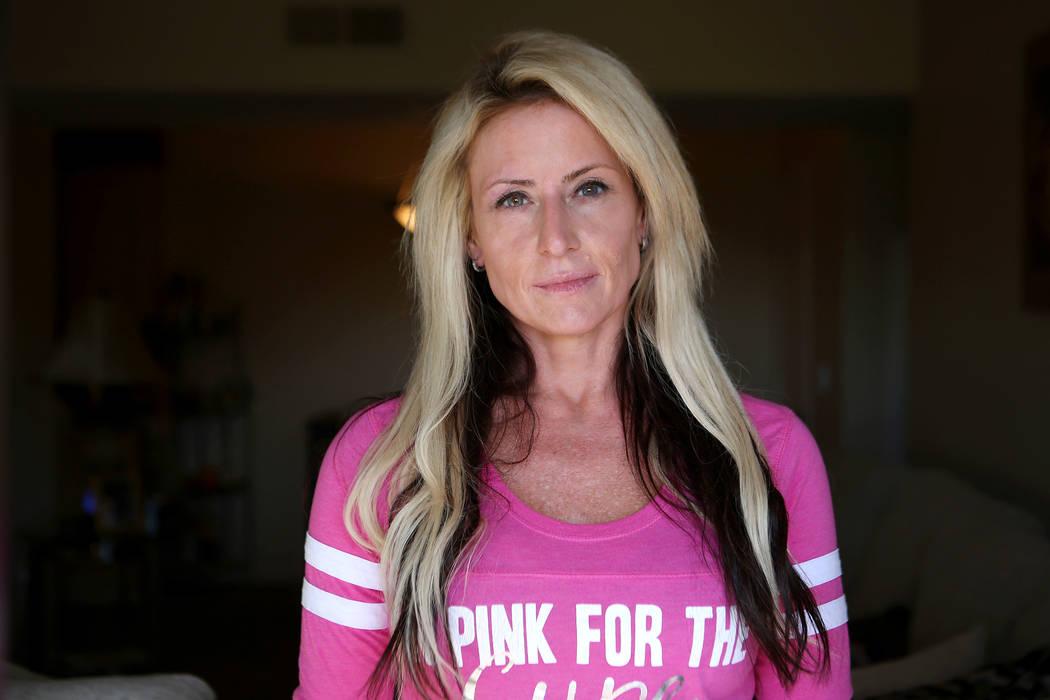 Julieta Salour at her home in Las Vegas, Wednesday, Oct. 11, 2017. Bridget Bennett Las Vegas Review-Journal @BridgetKBennett