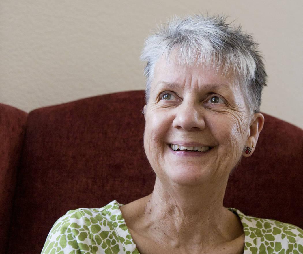 Two time breast cancer survivor Linda Pollick in her home in Las Vegas, Oct. 12, 2017. Elizabeth Brumley Las Vegas Review-Journal @EliPagePhoto