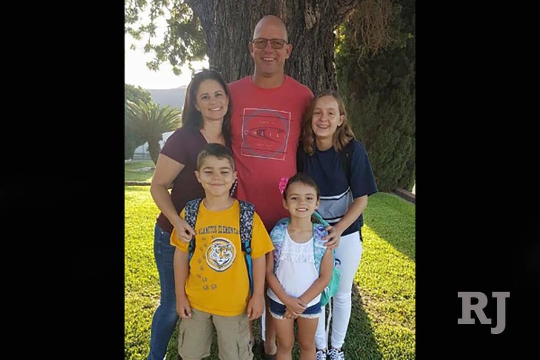 Frank Bignami and Autumn Bignami with their children (GoFundMe)