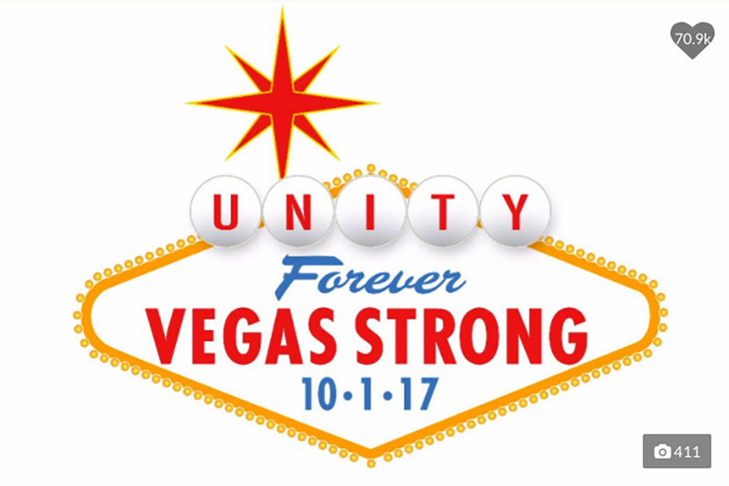Image result for vegas strong logo