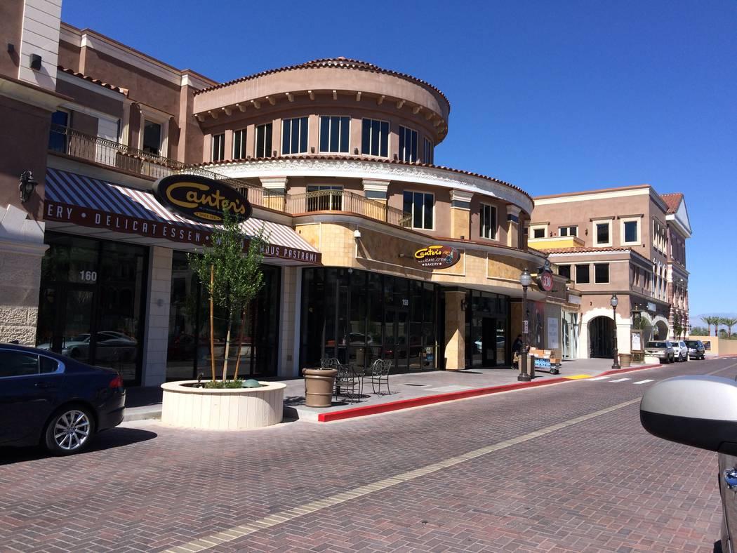 Canter's Deli Las Vegas is seen Oct. 4, 2017 in Tivoli Village. The deli has been around since 1924. (Jan Hogan/View)