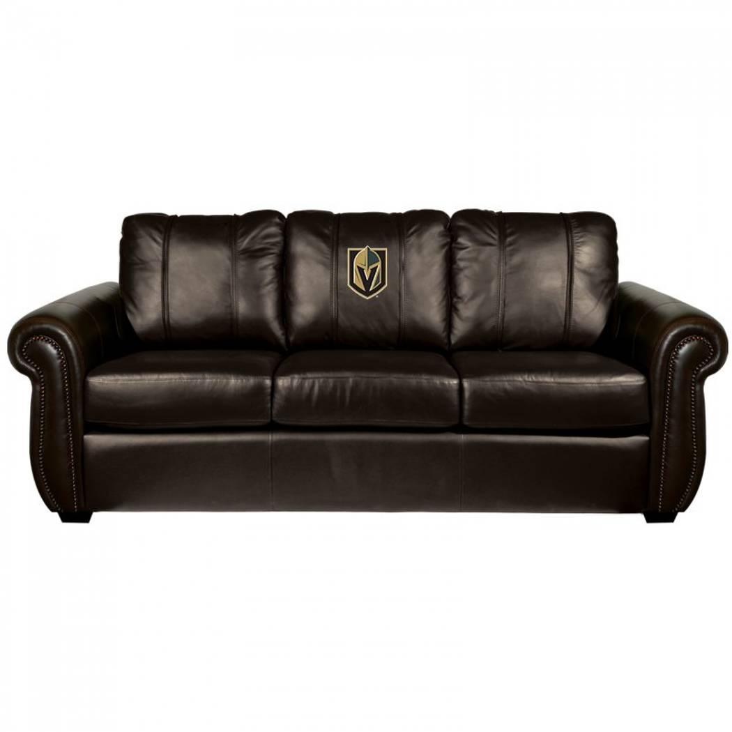 Vegas Golden Knights NHL Chesapeake Sofa (Game Room Hub)