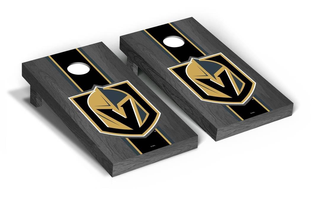 VEGAS GOLDEN KNIGHTS NHL REGULATION CORNHOLE GAME SET (Victory Tailgate)