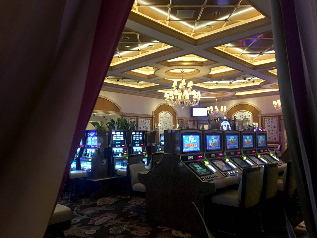The high limit slot room at the Bellagio Wednesday, Oct. 4, 2017. Elizabeth Brumley Las Vegas Review-Journal @EliPagePhoto