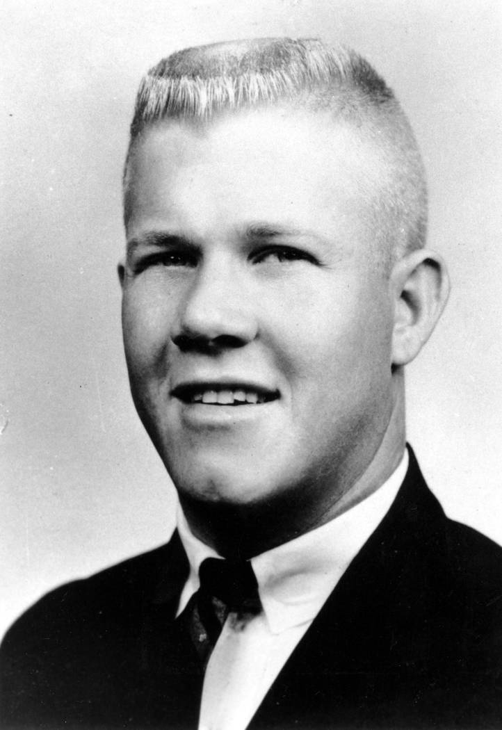 Charles J. Whitman, a 24-year-old student at the University of Texas, is shown in this 1966 photograph. (AP Photo)
