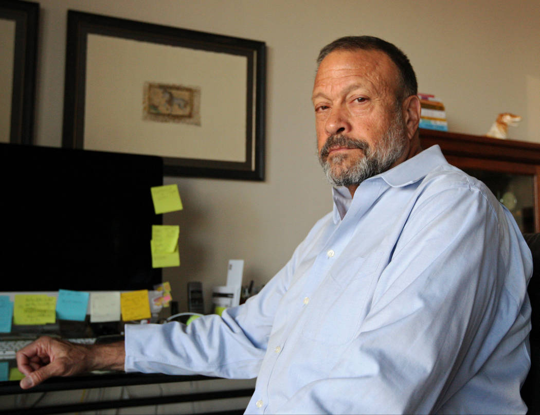 Dr. Mel Pohl, chief medical officer of the Las Vegas Recovery Center, at his home in Las Vegas, Wednesday, Oct. 4, 2017. Gabriella Benavidez Las Vegas Review-Journal @latina_ish