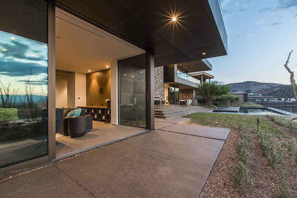 A second inspirational home has been completed in Ascaya, a luxury residential community in Henderson. (Ascaya)