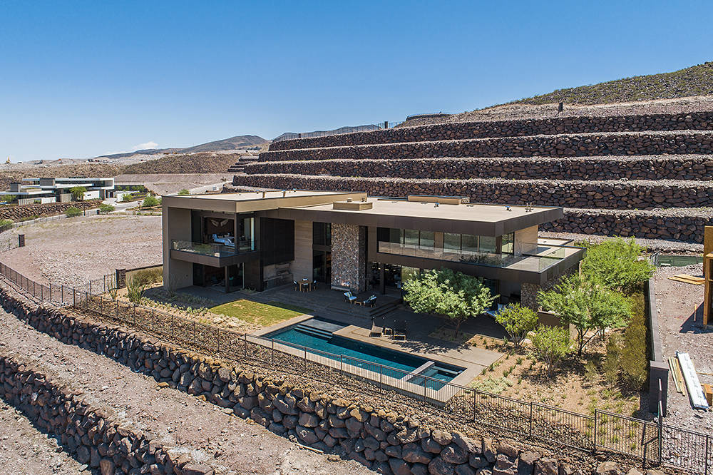 Ascaya's second inspirational home were designed by the Los Angeles-based design-build firm Marmol Radziner, known for their high-end residential creations. It's listed for $7.7 million. (Ascaya)