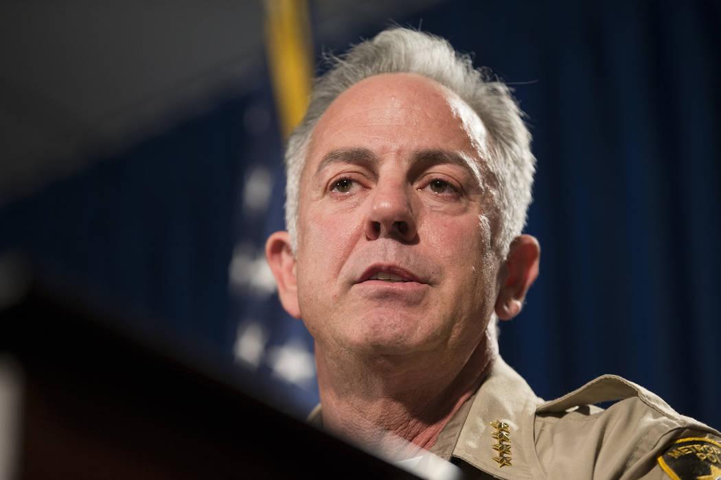 Clark County Sheriff Joe Lombardo. Erik Verduzco/Las Vegas Review-Journal