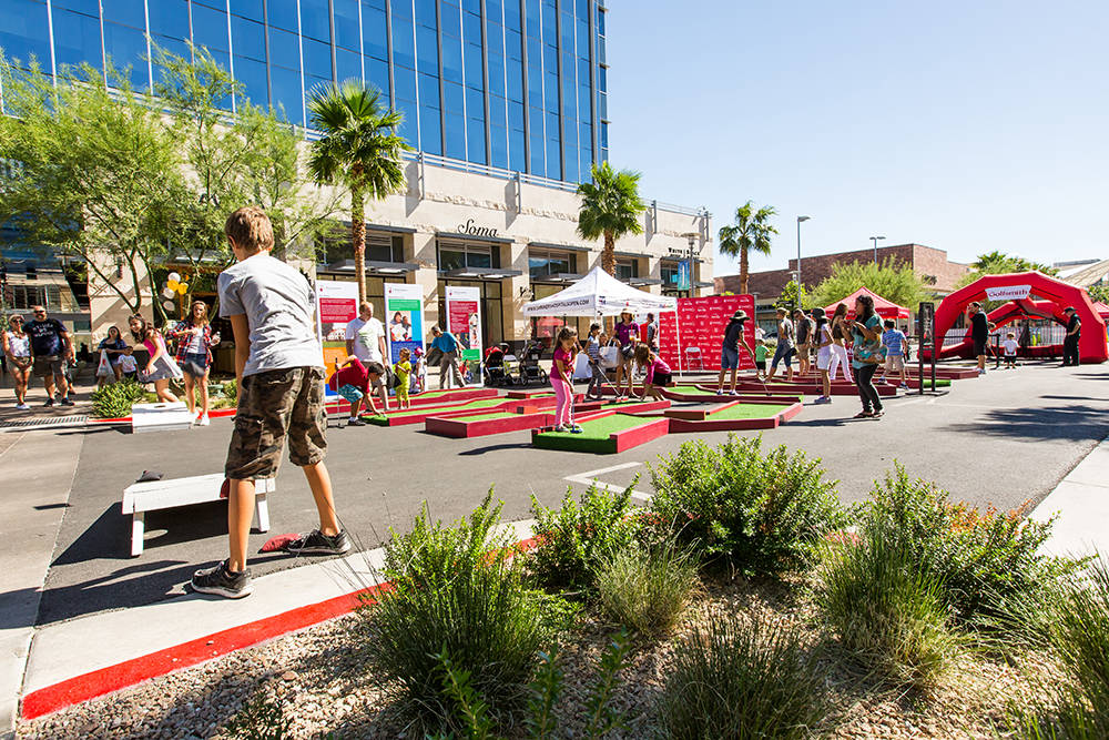 Lots of games on tap for the Summerlin Festival of Arts.  (Summerlin)