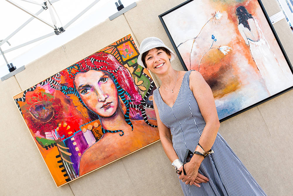 Summerlin  Niki Sands, a Southern Nevada painter, returns to the Summerlin Festival of the Arts.  She is among 110 artists and craftsmen chosen by a jury to participate in the show.