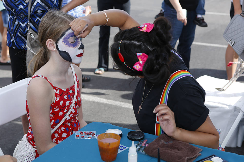 Summerlin Festival of Arts will offer face-painting and other activities. (Summerlin)