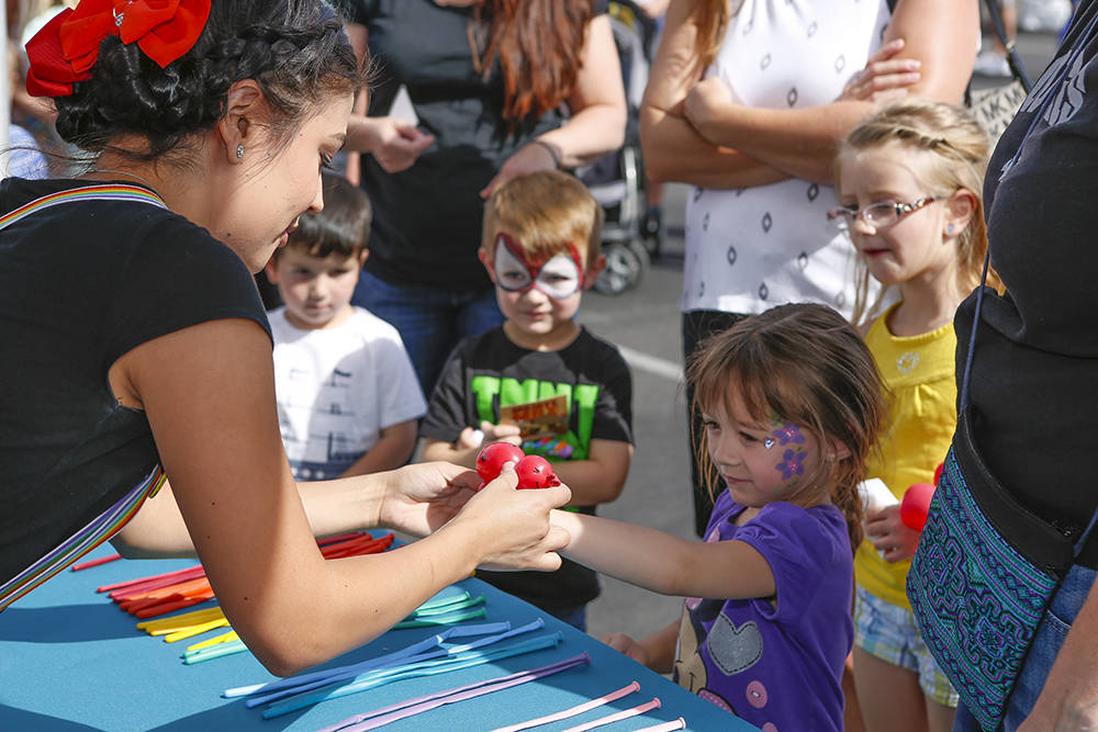 Children's activities will be featured at the Summerlin Festival of Arts. (Summerlin)