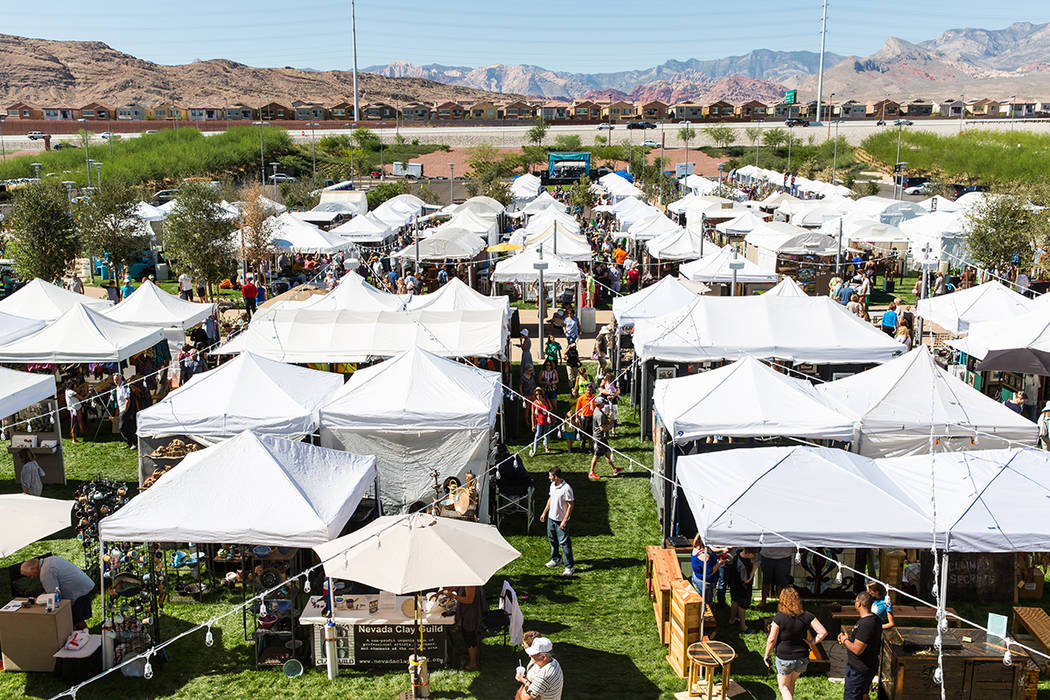 The 22nd annual Summerlin Festival of Arts returns to Downtown Summerlin Oct. 14-15. (Summerlin)