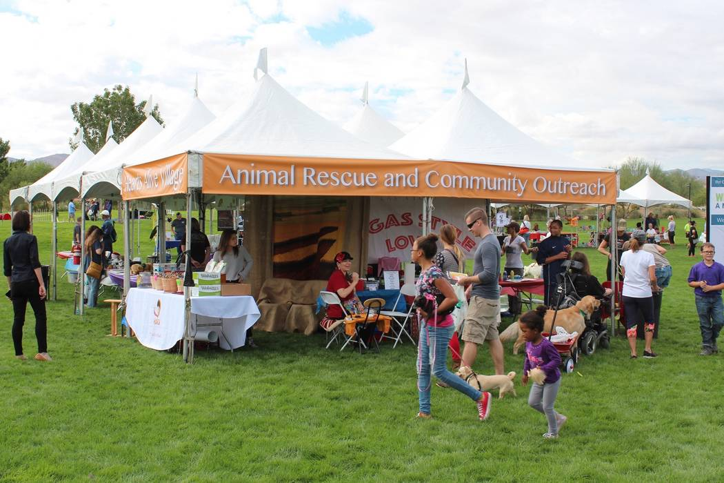 Mountain's Edge  Learn ways to help abandoned, rescued and neglected animals at the free Family, Fur & Fun Festival at Mountain's Edge on Oct. 14.
