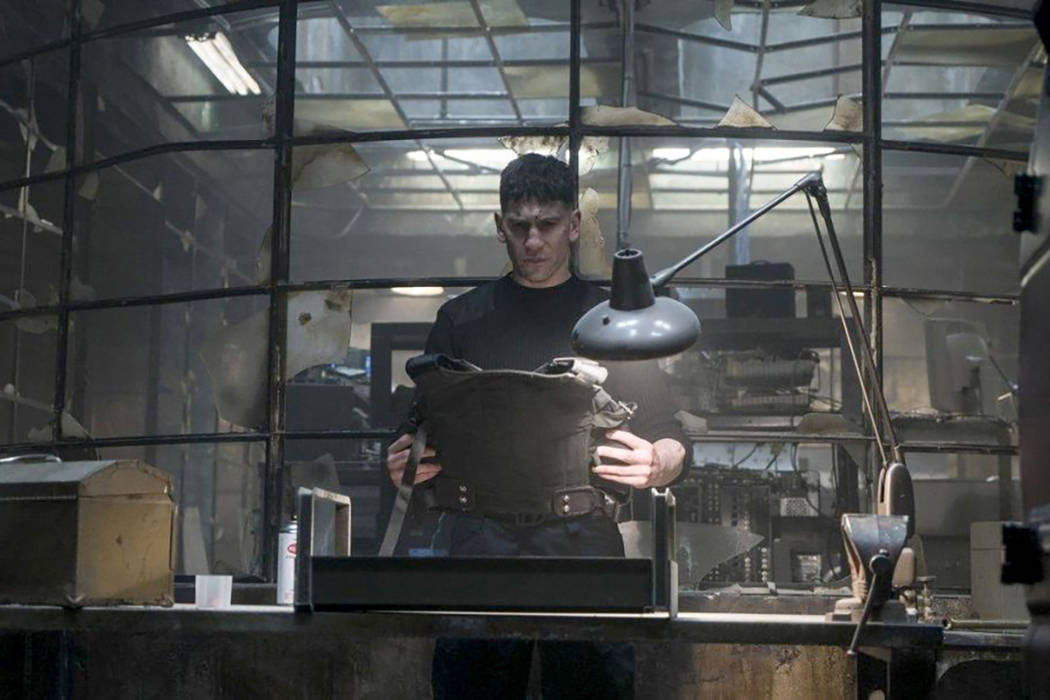"Jon Bernthal stars as Frank Castle in the forthcoming Marvel/Netflix series ""The Punisher."" (Marvel-Netflix)"